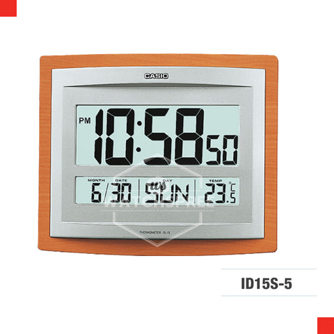 Casio Clock ID15S-5D