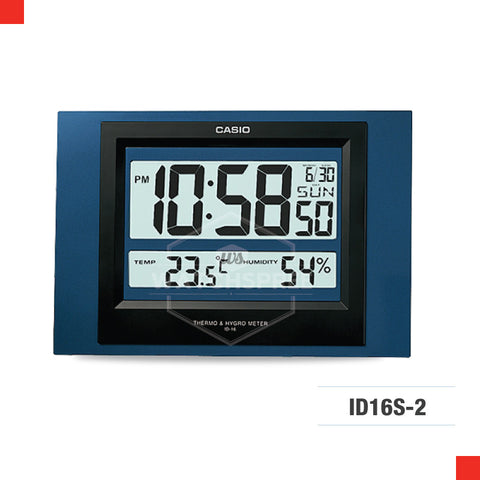 Casio Clock ID16S-2D
