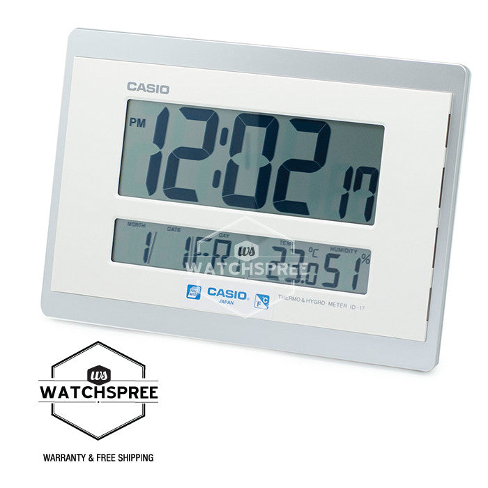 Casio Clock ID17-8D