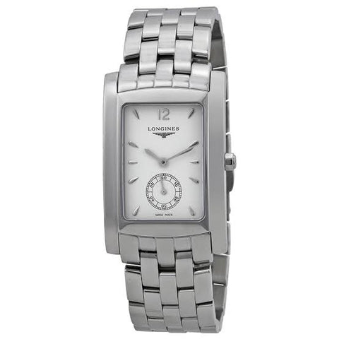 Longines DolceVita White Dial Stainless Steel 32.1 mm x 26.3 mm Ladies Watch L5.655.4.16.6