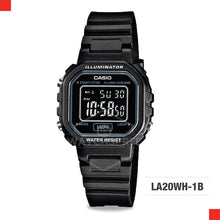 Load image into Gallery viewer, Casio Ladies Watch LA20WH-1B