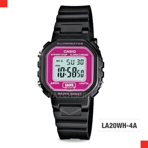 Casio Ladies Watch LA20WH-4A