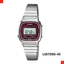 Load image into Gallery viewer, Casio Vintage Watch LA670WA-4D