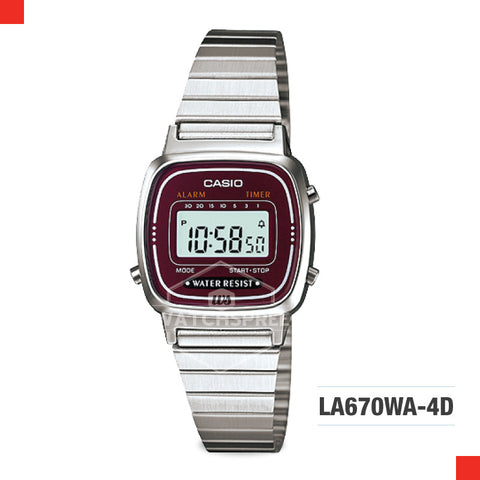 Casio Vintage Watch LA670WA-4D