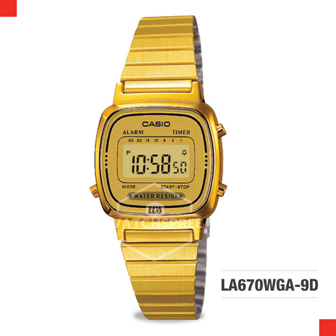 Casio Vintage Watch LA670WGA-9D
