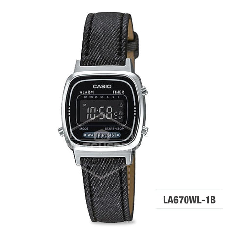Casio Standard Digital Ladies' Watch LA670WL-1B
