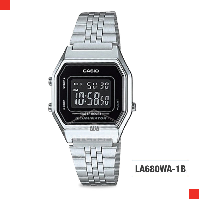 Casio Vintage Watch LA680WA-1B