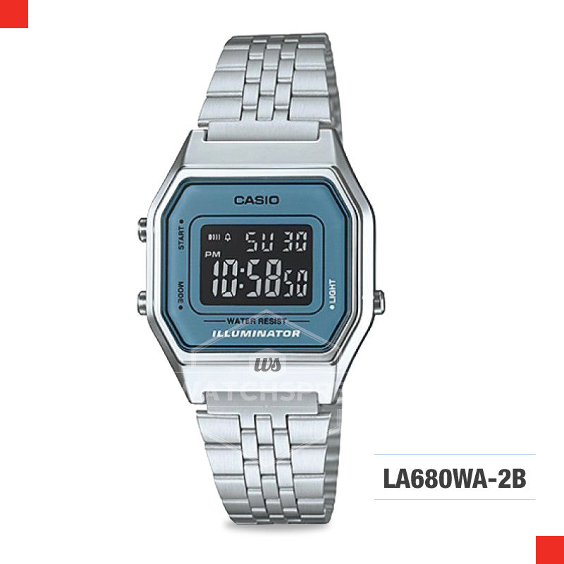 Casio Vintage Watch LA680WA-2B