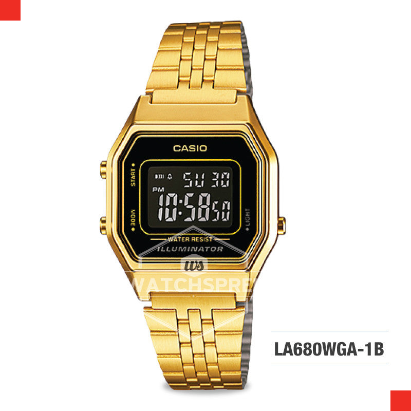 Casio Vintage Watch LA680WGA-1B