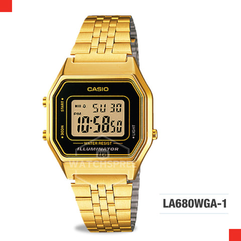 Casio Vintage Watch LA680WGA-1D