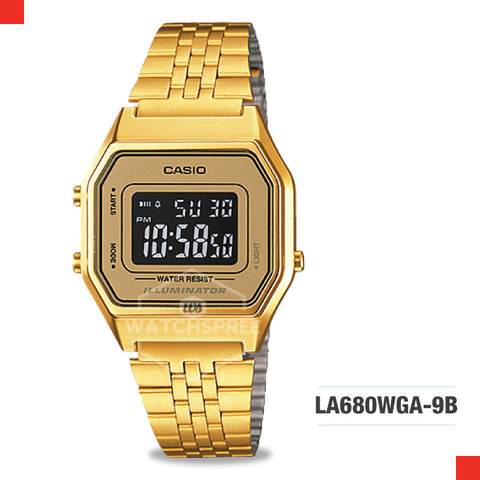 Casio Vintage Watch LA680WGA-9B