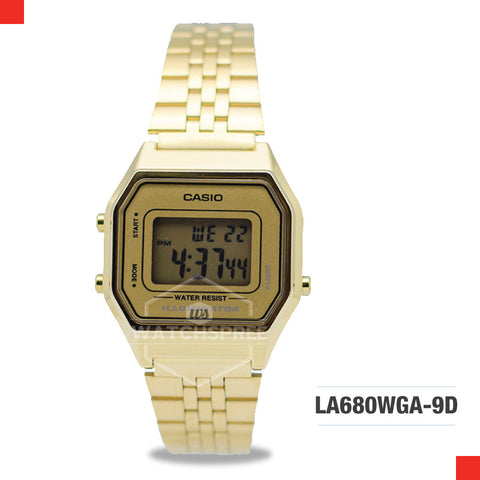 Casio Vintage Watch LA680WGA-9D