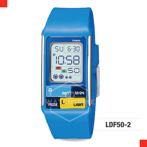 Casio Sports Watch LDF50-2D