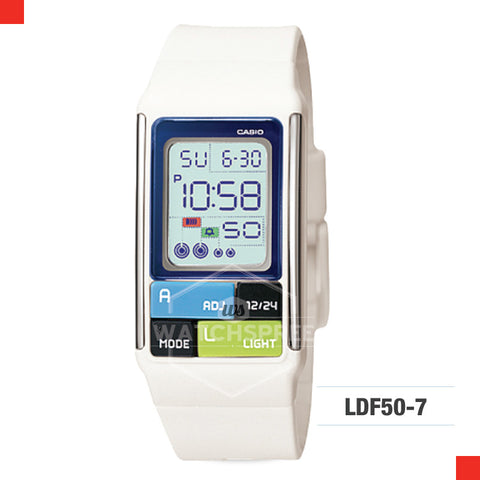Casio Sports Watch LDF50-7D