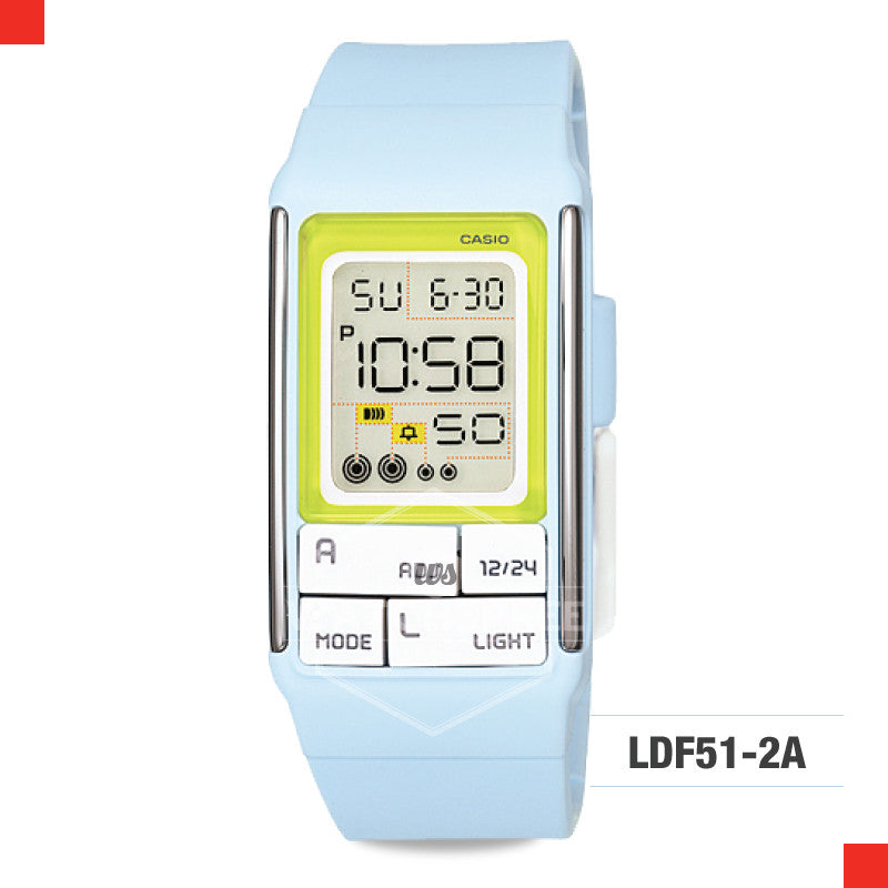 Casio Sports Watch LDF51-2A