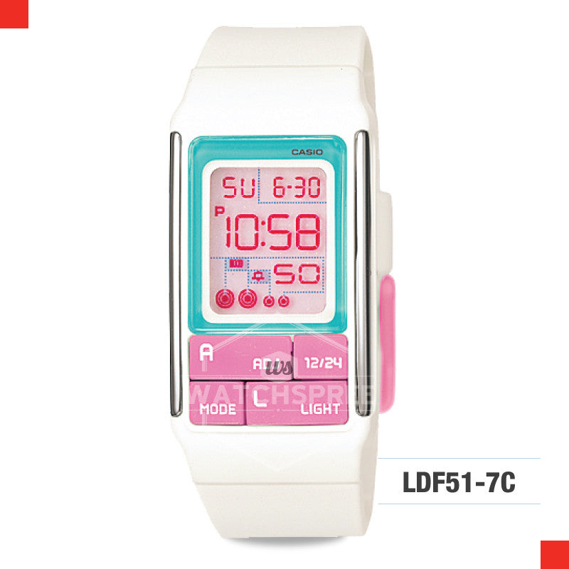 Casio Sports Watch LDF51-7C