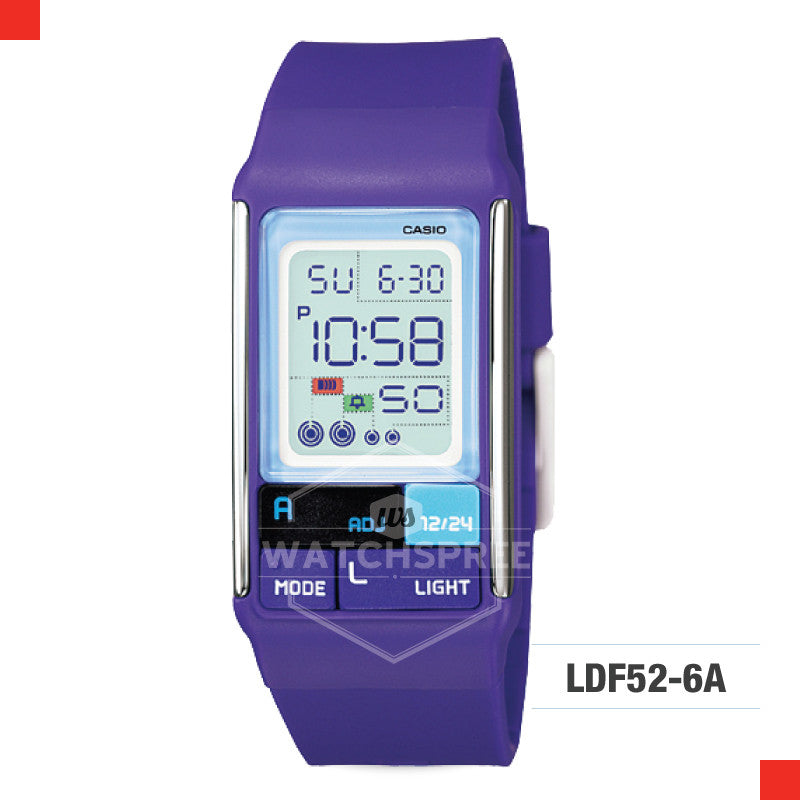 Casio Sports Watch LDF52-6A