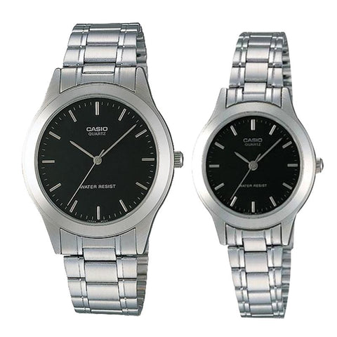 Casio Couple Stainless Steel Watch LTP1128A-1A MTP1128A-1A