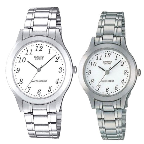 Casio Couple Stainless Steel Watch LTP1128A-7B MTP1128A-7B