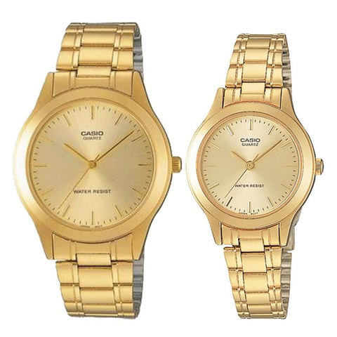 Casio Couple Stainless Steel Watch LTP1128N-9A MTP1128N-9A