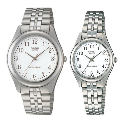 Casio Couple Stainless Steel Watch LTP1129A-7B MTP1129A-7B