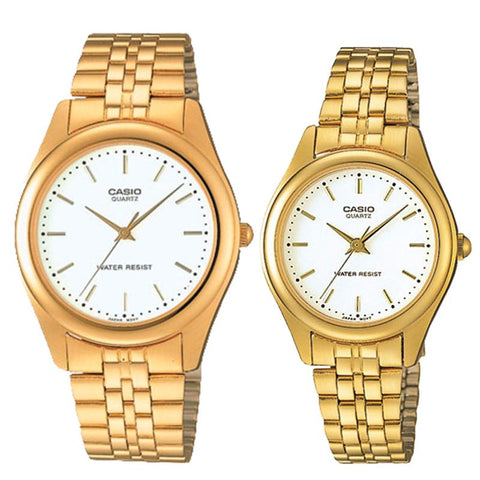 Casio Couple Stainless Steel Watch LTP1129N-7A MTP1129N-7A