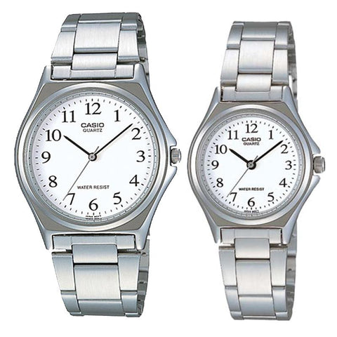 Casio Couple Stainless Steel Watch LTP1130A-7B MTP1130A-7B