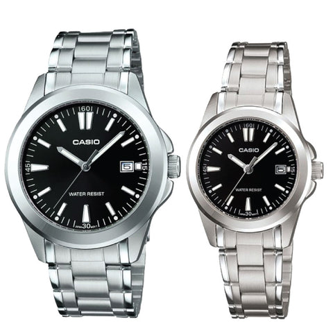 Casio Couple Watch MTP1215A-1A2 LTP1215A-1A2