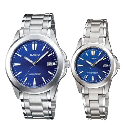 Casio Couple Watch MTP1215A-2A2 LTP1215A-2A2