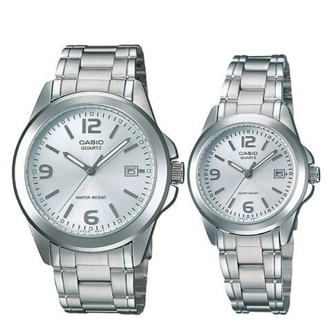 Casio Couple Watch MTP1215A-7A LTP1215A-7A