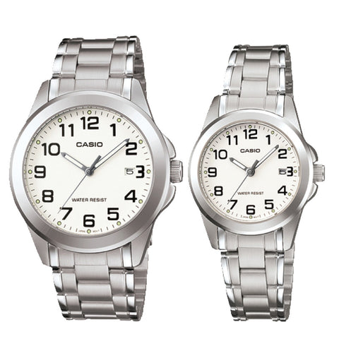 Casio Couple Watch MTP1215A-7B2 LTP1215A-7B2