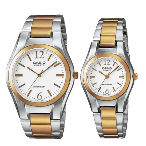 Casio Couple Watch MTP1253SG-7A LTP1253SG-7A