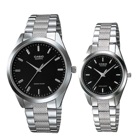 Casio Couple Watch MTP1274D-1A LTP1274D-1A