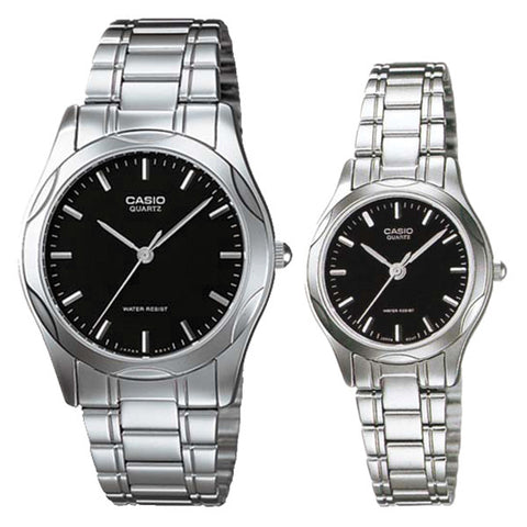 Casio Couple Watch MTP1275D-1A LTP1275D-1A