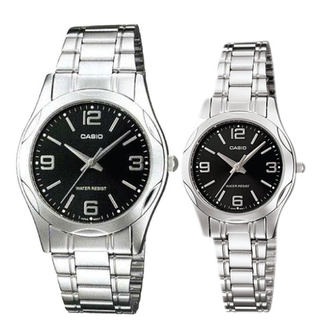 Casio Couple Watch MTP1275D-1A2 LTP1275D-1A2