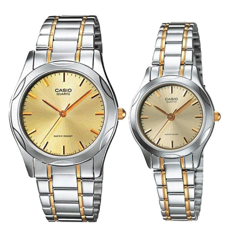 Casio Couple Metal Watch LTP1275SG-9A MTP1275SG-9A