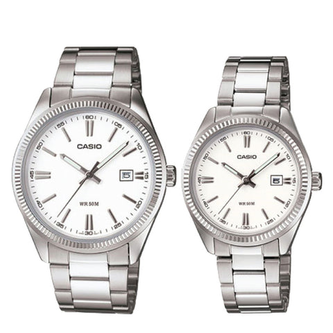 Casio Couple Watch MTP1302D-7A1 LTP1302D-7A1