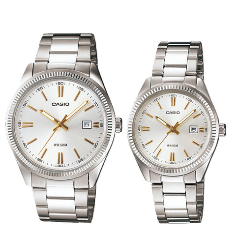 Casio Couple Watch MTP1302D-7A2 LTP1302D-7A2