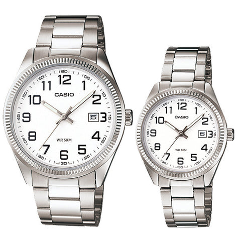 Casio Couple Watch MTP1302D-7B LTP1302D-7B
