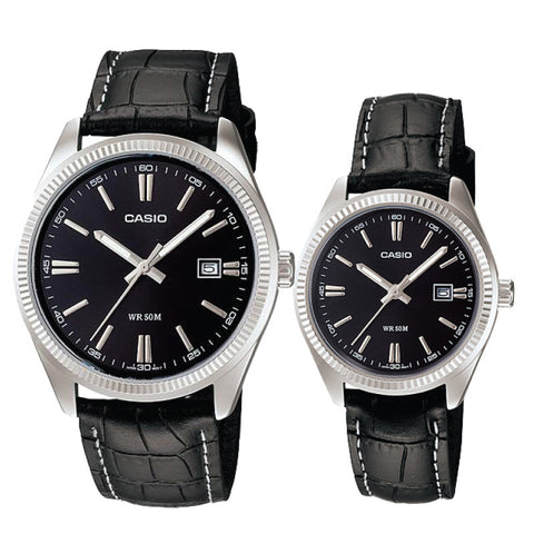 Casio Couple Watch MTP1302L-1A LTP1302L-1A