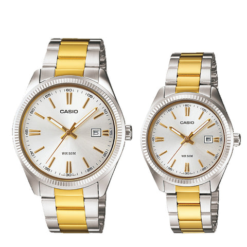 Casio Couple Watch MTP1302SG-7A LTP1302SG-7A
