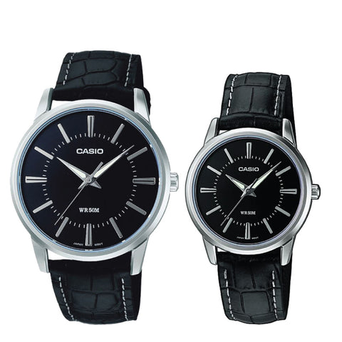 Casio Couple Watch MTP1303L-1A LTP1303L-1A