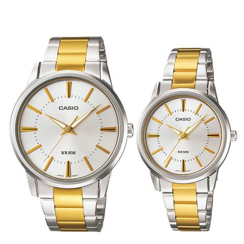Casio Couple Watch MTP1303SG-7A LTP1303SG-7A