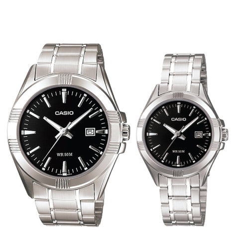 Casio Couple Watch MTP1308D-1A LTP1308D-1A