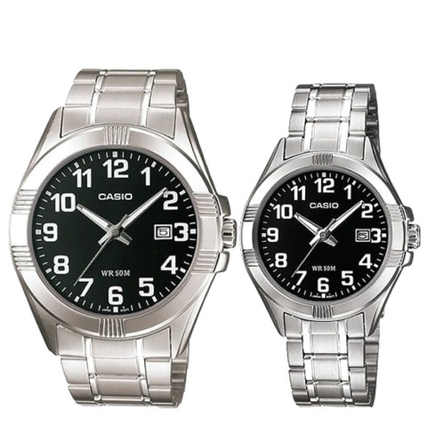 Casio Couple Watch MTP1308D-1B LTP1308D-1B