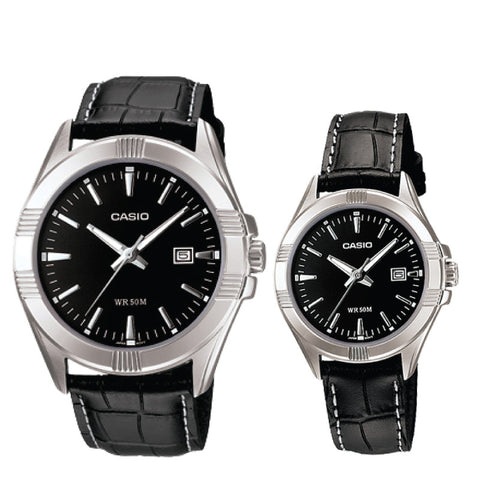 Casio Couple Watch MTP1308L-1A LTP1308L-1A