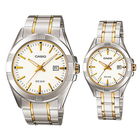 Casio Couple Watch MTP1308SG-7A LTP1308SG-7A