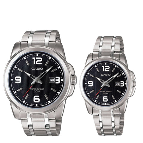 Casio Couple Watch MTP1314D-1A LTP1314D-1A