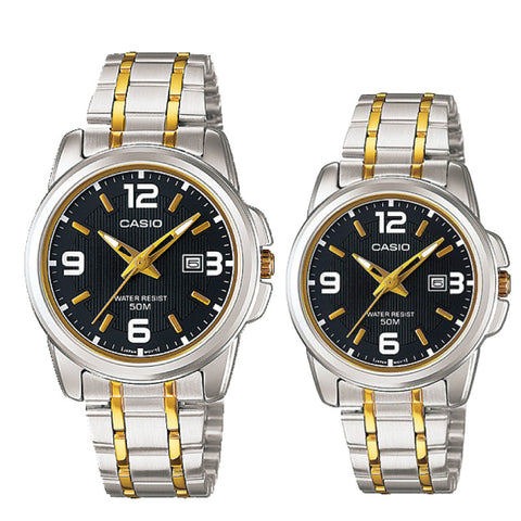 Casio Couple Watch MTP1314SG-1A LTP1314SG-1A