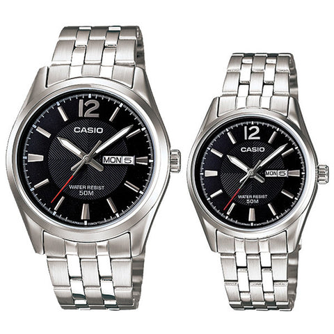 Casio Couple Watch MTP1335D-1A LTP1335D-1A